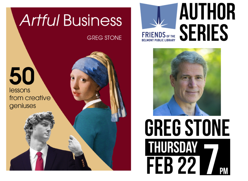 greg stone author talk