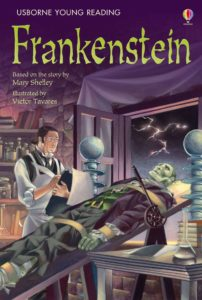 young readers edition of Frankenstein
